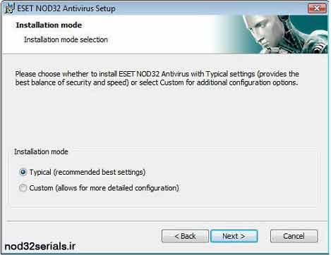آموزش نصب نود 32 بصورت کامل و تصویری