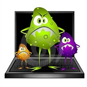 علائم ویروسی شدن کامپیوتر چیست؟